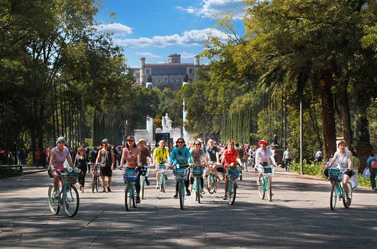 Historical Bike Tour in Mexico City...