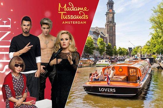 アムステルダムスーパーセーバー:Madame Tussauds入場券と1時間…