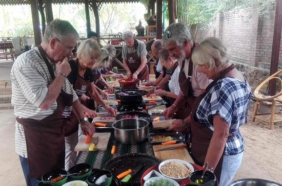 Cooking Class in the Morning and Sunset Boat Cruise in the evening in...