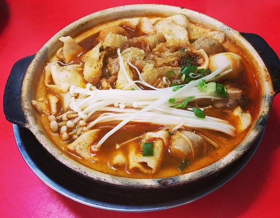 Tangkak, ماليزيا: Awesome Tom Yum Mee Hoon Kway!