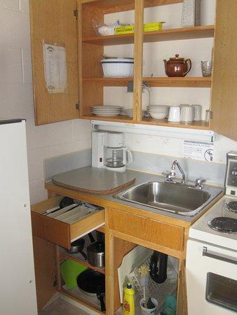 Canim Lake, Kanada: all the kitchen basics