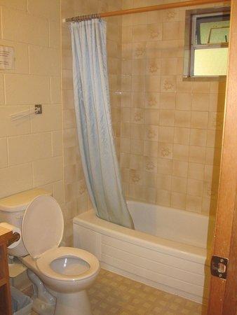 Canim Lake, Kanada: good shower pressure