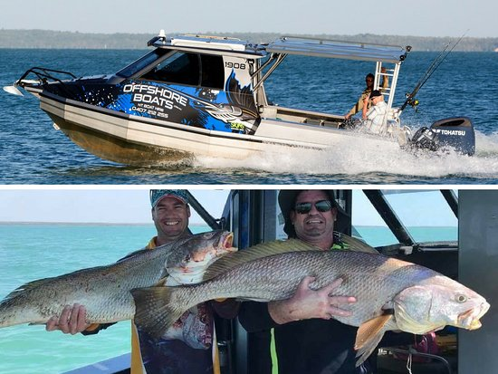 Offshore Boats - Darwin Reef & Sport Fishing Charters