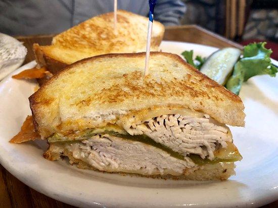 Grizzly Cafe: Southwestern Turkey Sandwich