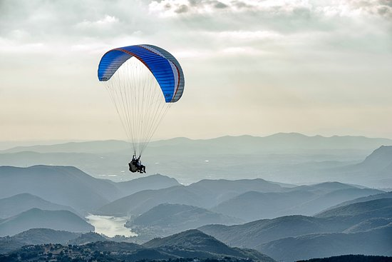 Λάτσιο, Ιταλία: Evening flight Poggio Bustone