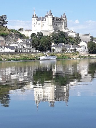 Chateau de Saumur from the Loire