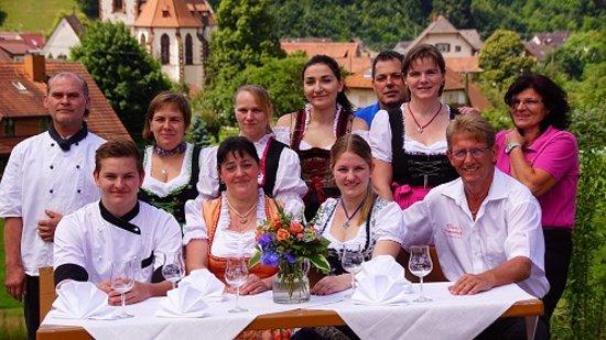 Glottertal, Germany: Familie wisser