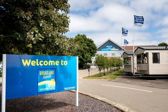 Small but good base - Review of Broadland Sands Holiday Park ... on