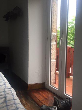Vera de Bidasoa, Испания: Chambre avec terrasse!