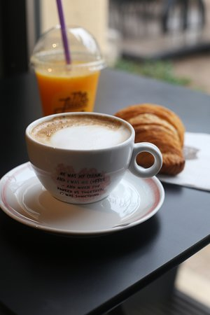 If you just want to sit and have a coffee, come to our Palmotićeva location.