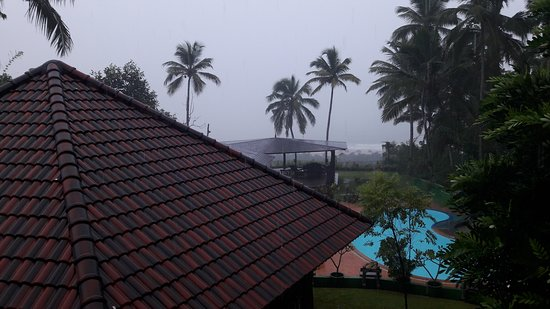Chowara, Indien: Snap was clicked during inclement weather