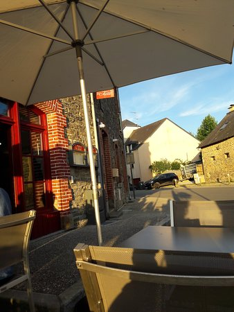 Saint-Armel, Francia: Terrasse
