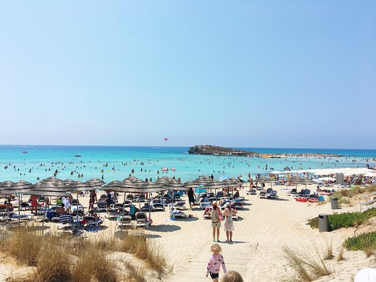 Nissi Beach A Quick Walk From Resort Picture Of Atlantica Aeneas