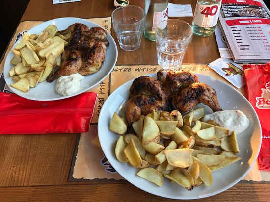 Rooster house: Una cena tipica al Rooster!!!