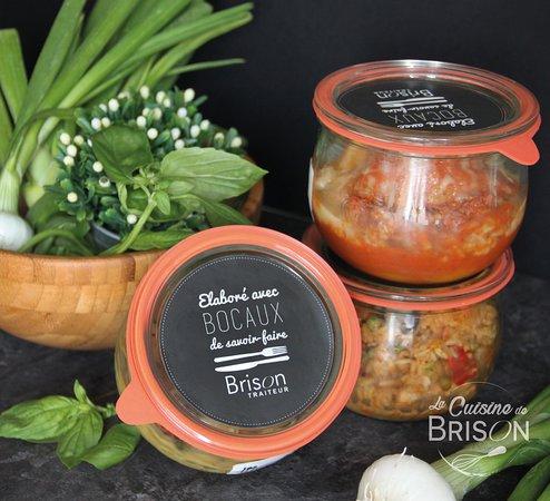 Bocaux Pasteurises Cuisines Dans Notre Atelier Picture Of La