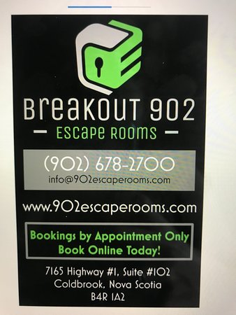 Breakout 902 Escape Rooms