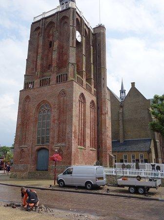 Workum, The Netherlands: De dikke toren van de gertrudiskerk
