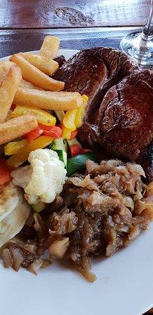 AfricanSwiss Restaurant: Rump Africanswiss