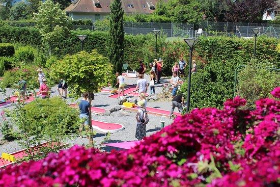 Talloires, France : Minigolf 18 pistes rénovées