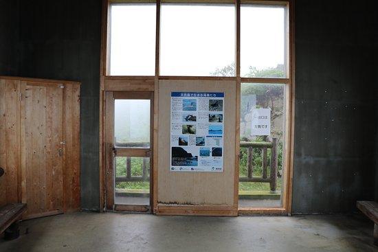 Haboro-cho, Japan: 海鳥観察舎内部