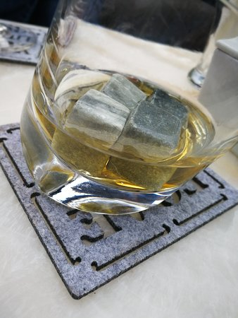 Scotch, as it must be served.
