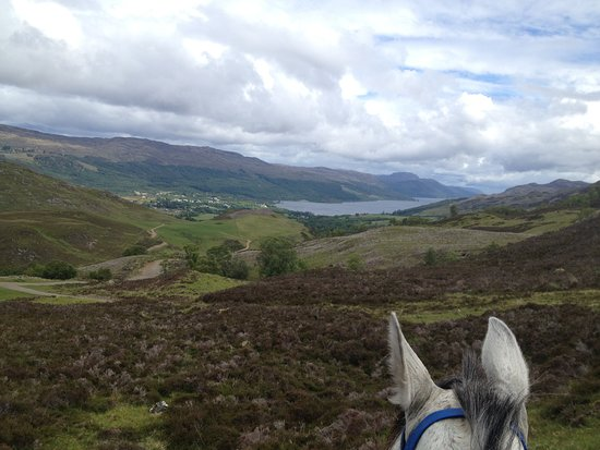 ‪‪Loch Ness Riding‬: On top of the world near Fort Augustus‬