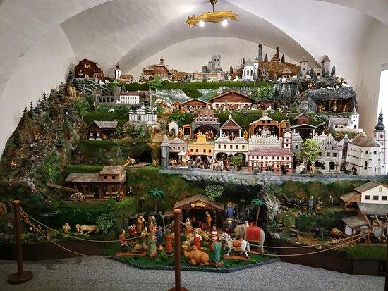 Susice, República Tcheca: místní betlém