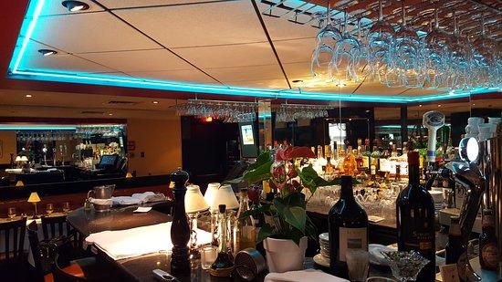The bar area at Ciccio Cafe
