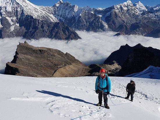 Patan (Lalitpur), Nepal: Baden Powell Scout Peak