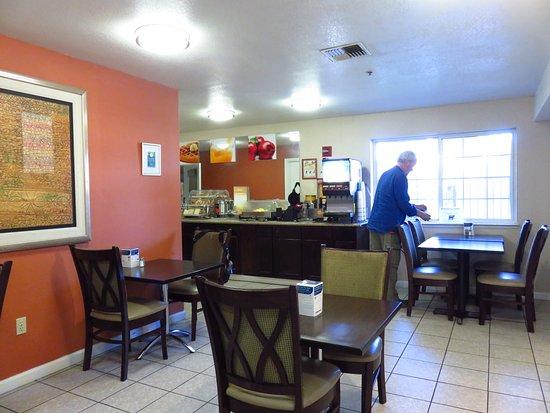 Lathrop, Kalifornien: Breakfast room