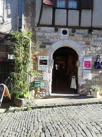 Cordes-sur-Ciel, فرنسا: La boutique