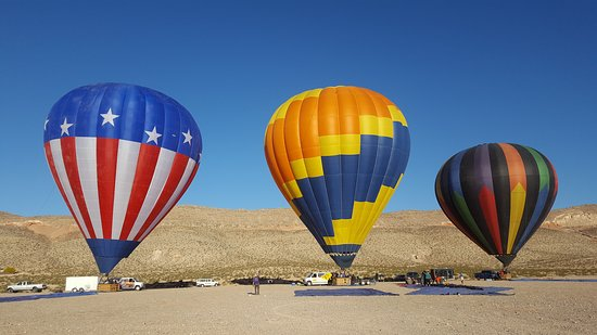 Vegas Hot Air Sin City Balloon Rides
