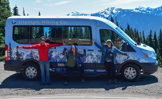 Port Angeles, WA: The Olympic Hiking Co. Guide & Naturalist Team!