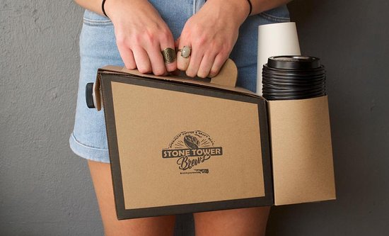 Buckhannon, WV: Box of Coffee