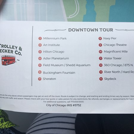 Chicago Trolley & Double Decker Co  - Book in Destination 2019 - All