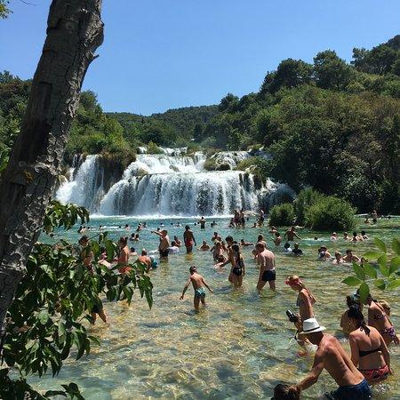 Krka National Park, Croatia: Busy