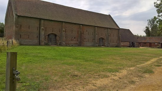 Old Basing, UK: Great Tudor Barn