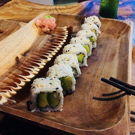 Leckere Sushi auch für Vegetarier