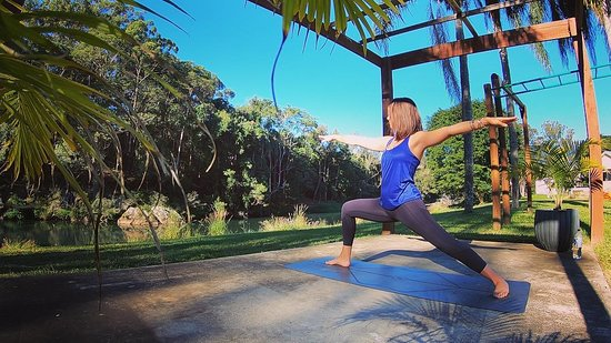 Burleigh Heads, Australia: esem yoga private lessons in Tallebudgera  Yoga Gold Coast www.esemyoga.com