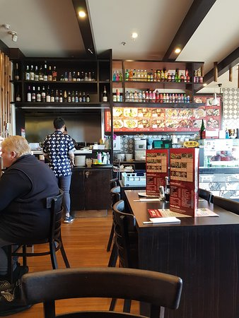 Waurn Ponds, Australia: Just a quick snap of the bar and counter.