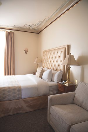 Le Manoir D Auteuil Bedroom With Large Opening Windows To Park