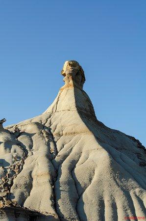 Sphinx Hoodoo in Dinosaur Provincial Park, July 2018