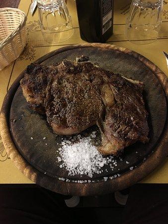 All'Antico Ristoro di Cambi: bisteca