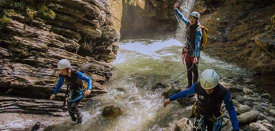 Morzine, France: Canyoning en Haute-Savoie avec Manu