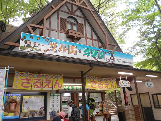 Mt. Takao, Monkey zoo, Wild Grass Garden
