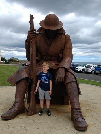 World War One Soldier Sculpture: IMG_20180802_114948701_large.jpg