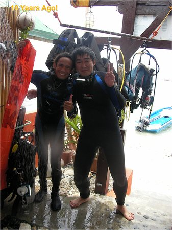 Sea Rider Dive Center: The remembrance in 10 years ago at Sea Rider (after diving)
