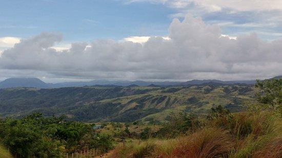 Tanawan Falls: view