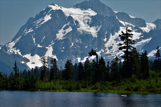 Glacier, Вашингтон: Picture Lake