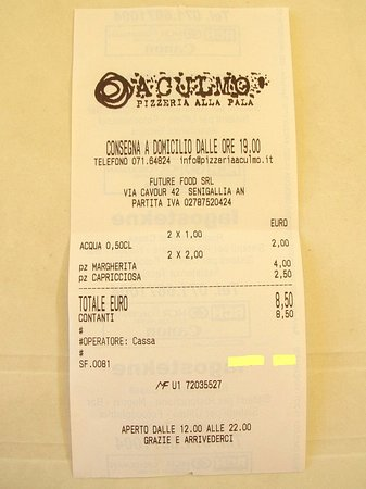 Pizzeria alla Pala Aculmo'照片